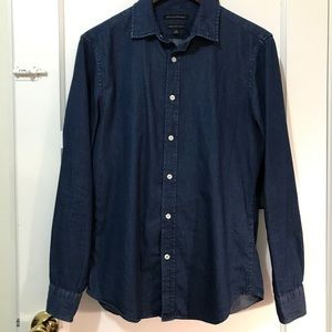 Banana republic denim shirt men's small